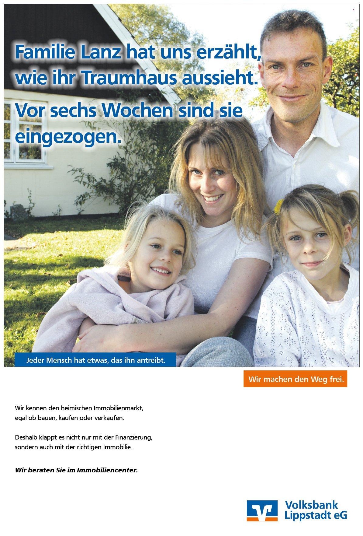 Baufinanzierung: Anzeigenmotiv der Werbeagentur in Bielefeld