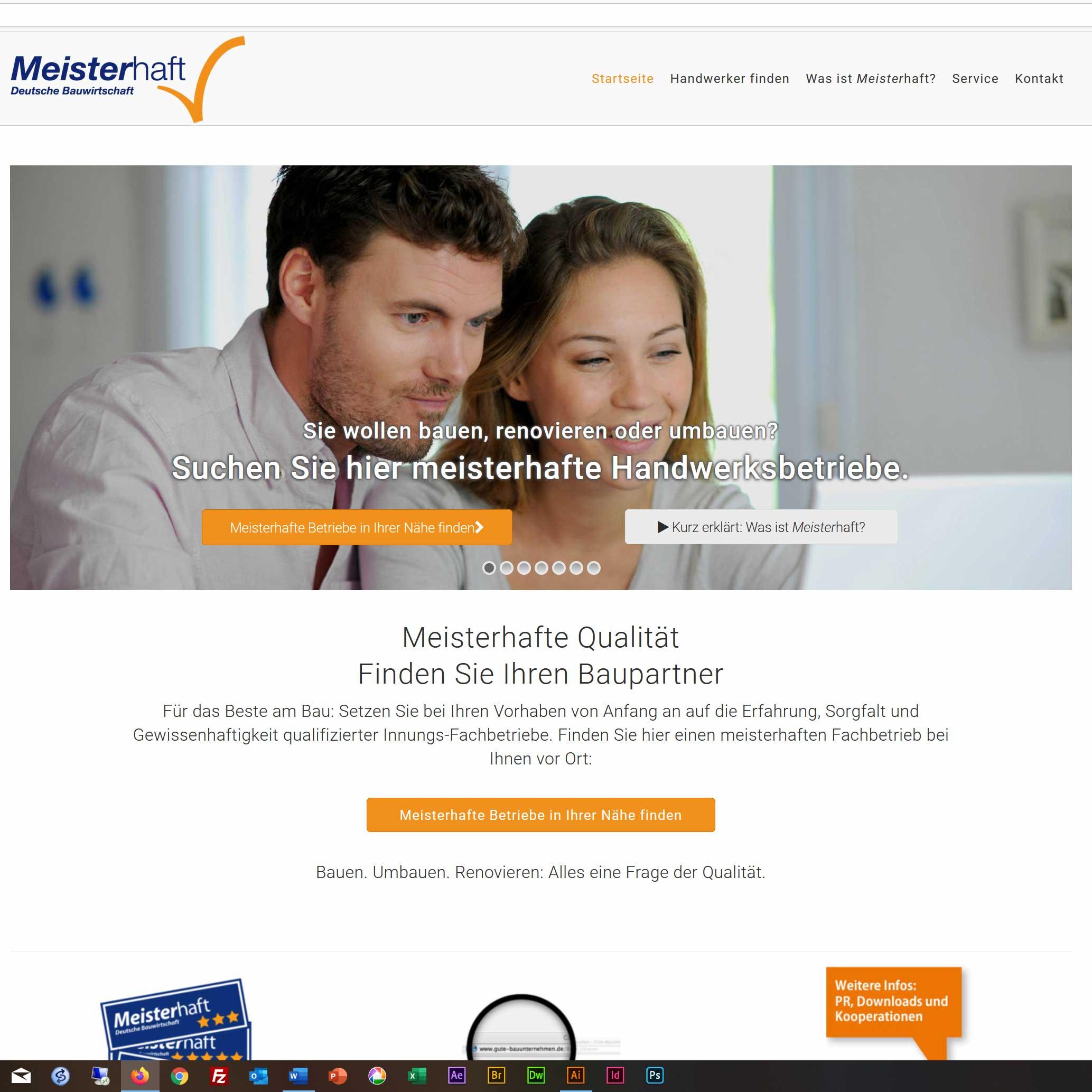 Website des Qualifizierungssystems