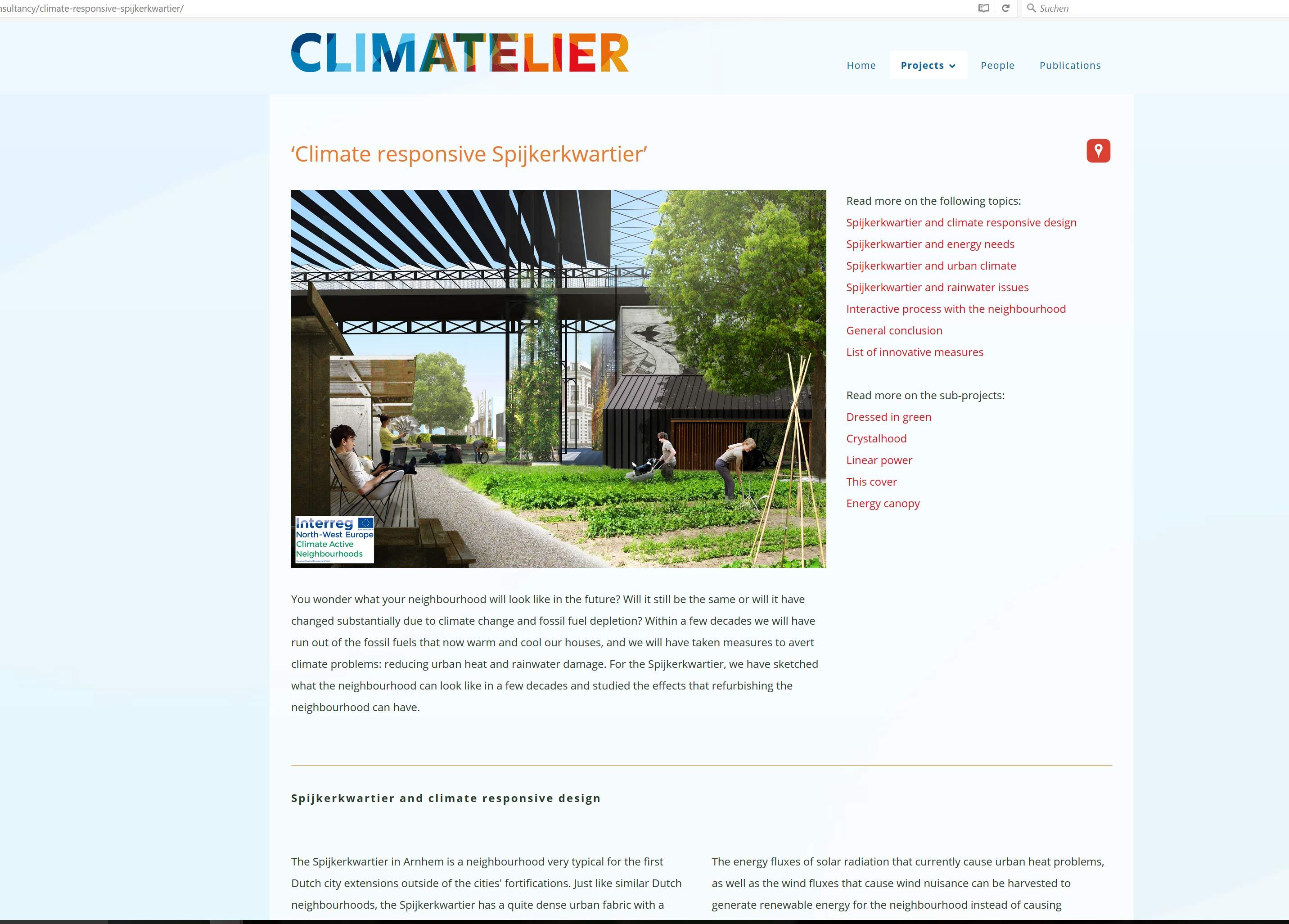 Website für Forschung und Wissenschaft