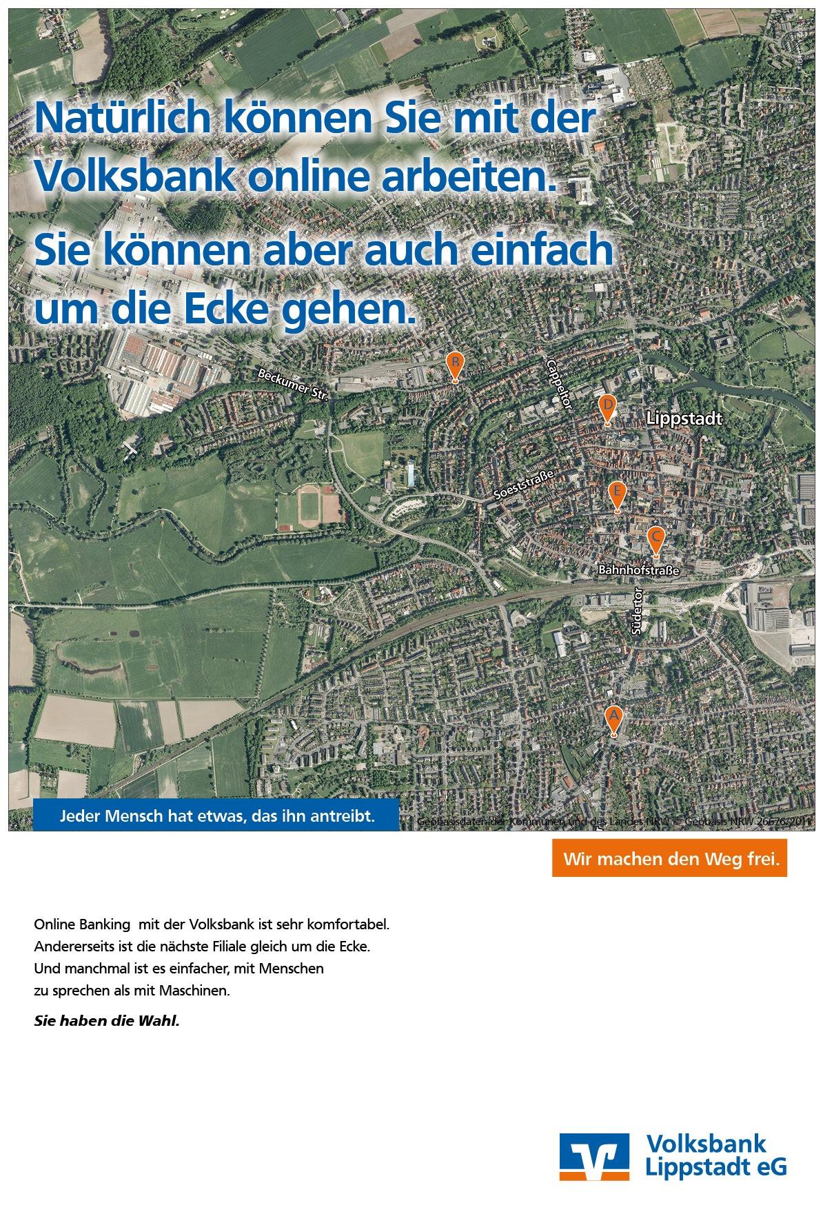 Marketingkampagne Volksbank Lippstadt