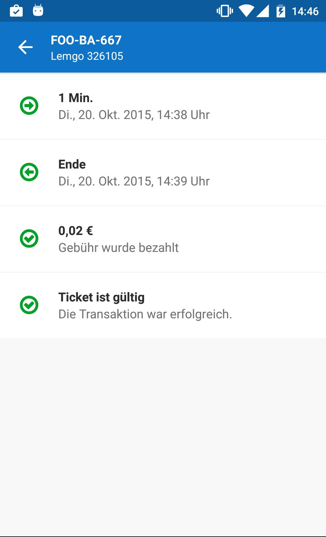 Parkfoxx-App